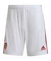 adidas FC Arsenal Londen Short Home 2021/2022 Wit