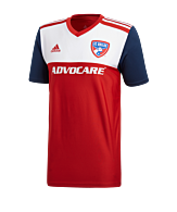 adidas FC Dallas Home 2019/2020 Jersey Rood