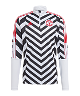 adidas Manchester United AOP Training Top Wit