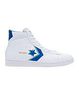 Converse Pro Leather High Sneaker Wit Blauw