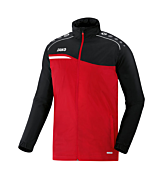 Jako Competition 2.0 All Weather Jacket Rood F01