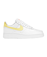 Nike Air Force 1 '07 Womens Wit Geel F160