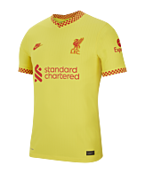 Nike Liverpool Auth FC. UCL 2021/2022 F704 Jersey