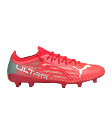 PUMA ULTRA 1.3 Sneller Voetbal FG/AG WMNS Dames Rood Turkoois Wit F01