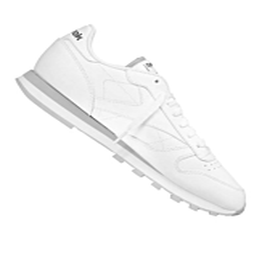 Reebok Classic Lederen Sneaker Wit Grijs