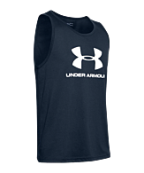 Under Armour Sportstyle Logo Tank Top Wit F409