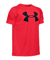 Under Armour Tech grote Logo T-Shirt kinderen rood F600