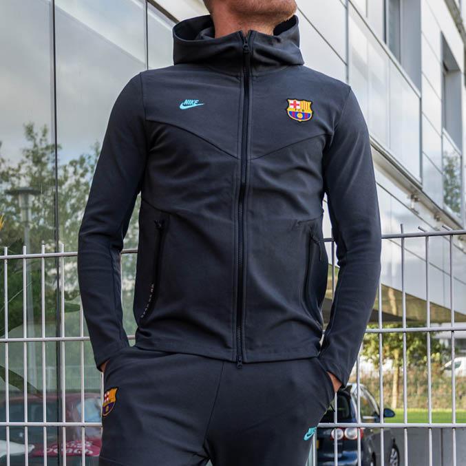 FC Barcelona Tech Pack Hoodie 2019-2020