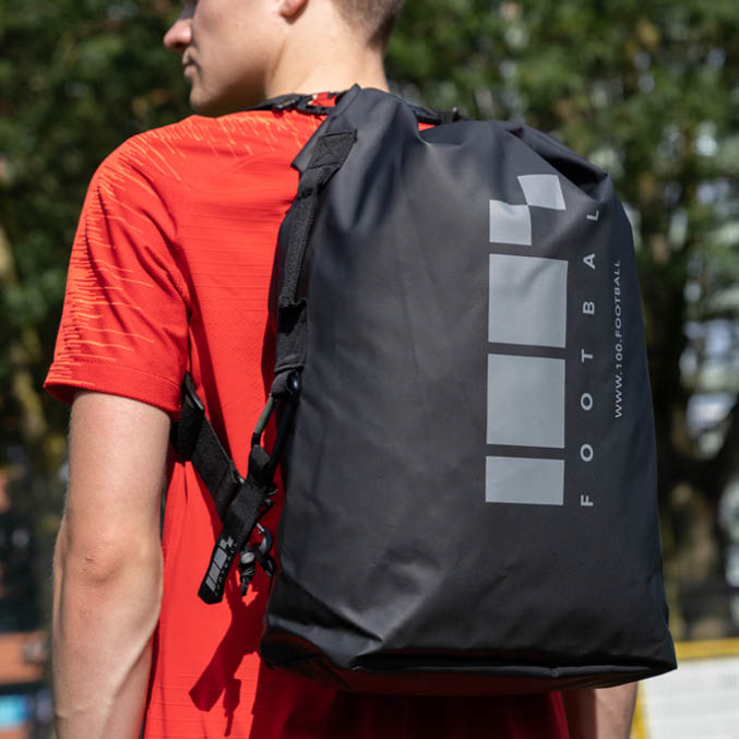 100% Football Messenger Bag