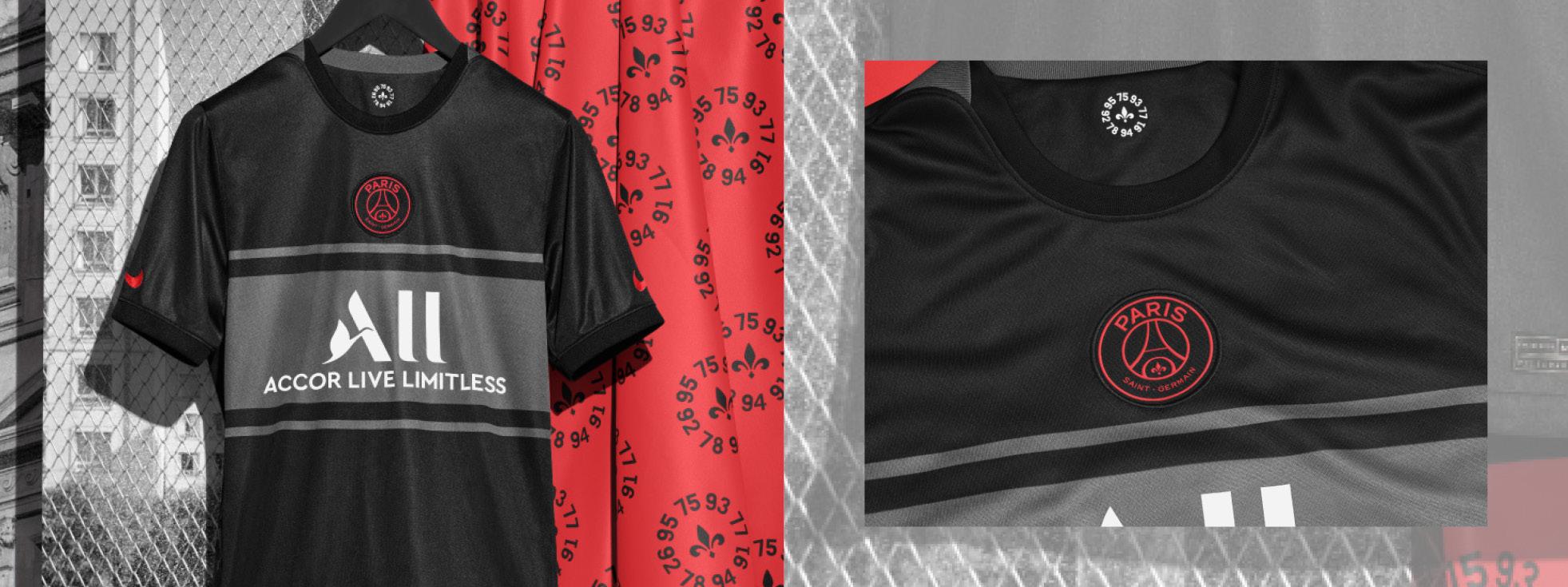 Paris Saint-Germain 3RD Kit 21-22